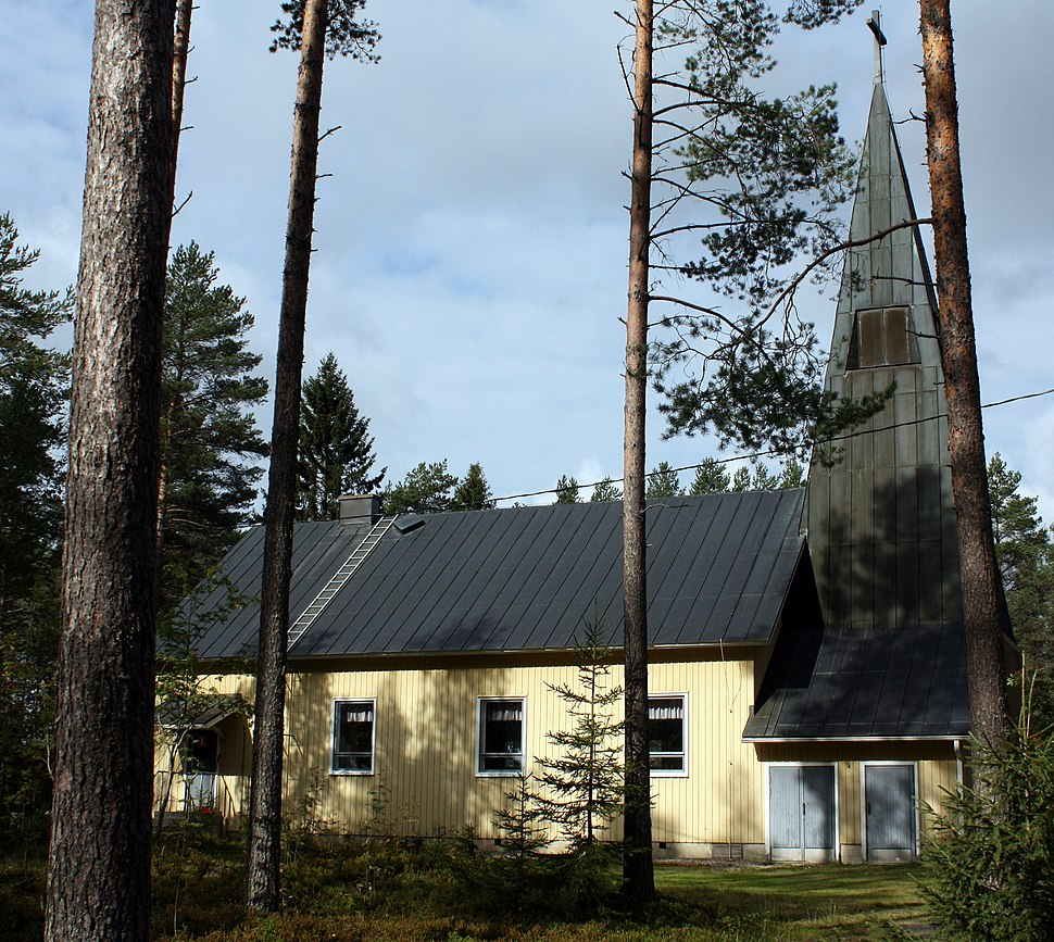 Olkkola Church 20100830