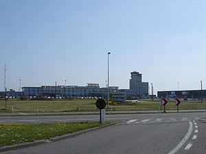 Ostend–Bruges International Airport - Main building