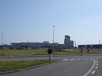 Ostend–Bruges International Airport - Main building