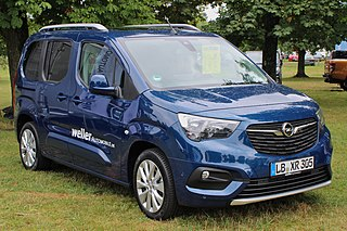Opel Combo Motor vehicle