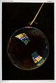 Optics; a soap bubble exhibiting interference colours. Colou Wellcome V0025367.jpg