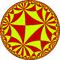 Order-8 tetrakis square tiling