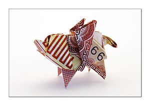 James Randi Educational Foundation - Image: Origami Pigasus