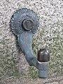 Ornate tap on the Joseph Salter memorial water fountain - geograph.org.uk - 1450923.jpg