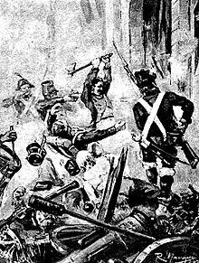 9a47d737f9c4b Toma de la Puerta da Gamboa durante la reconquista de Vigo