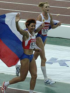 Tatyana Kotova Russian athlete