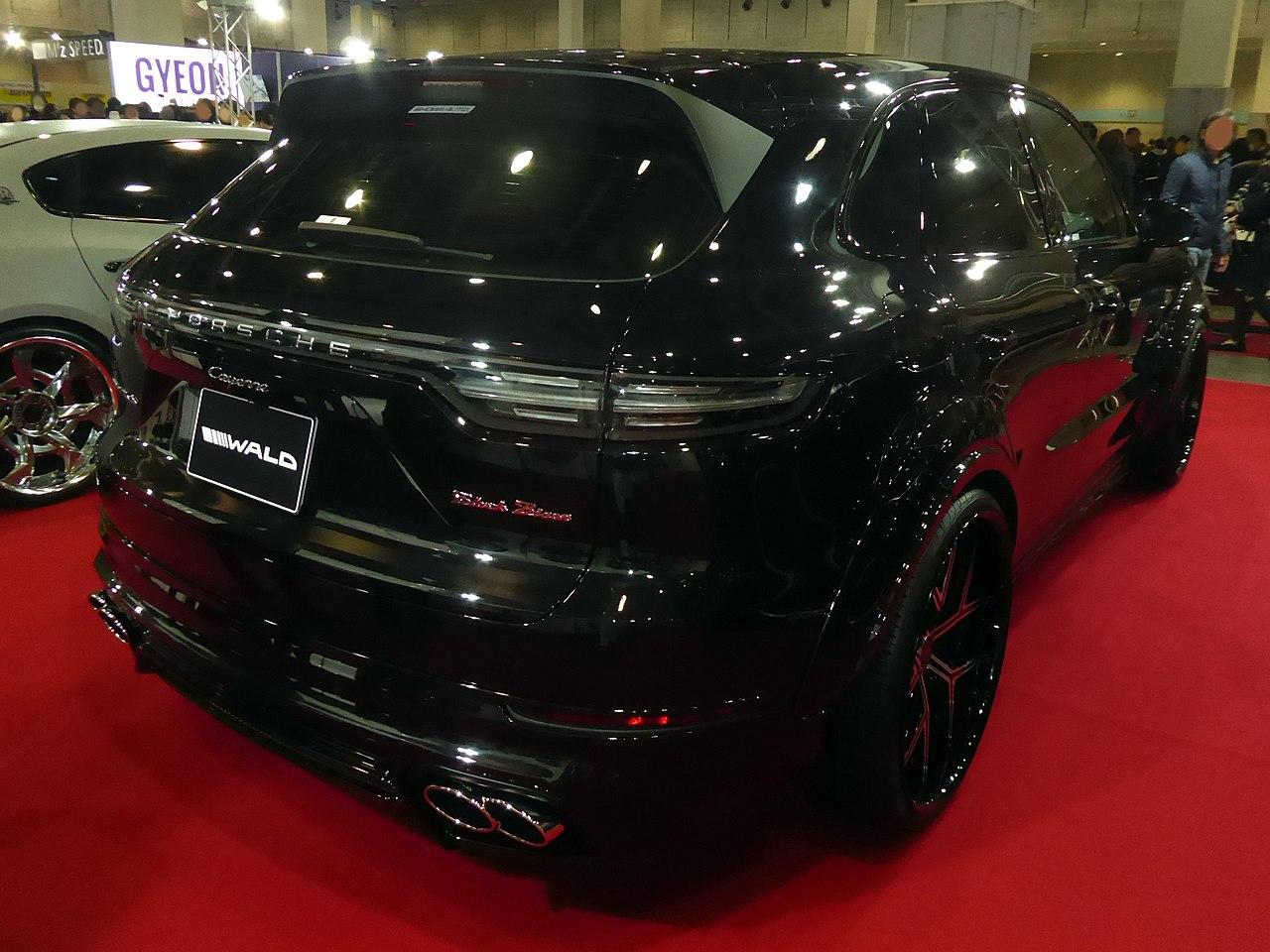 File Osaka Auto Messe 2019 677 Wald Sports Line Black Bison Edition Cayenne 9ya Jpg Wikimedia Commons