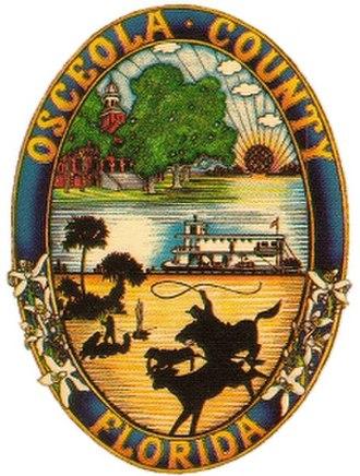 Osceola County, Florida - Image: Osceola County Fl Seal