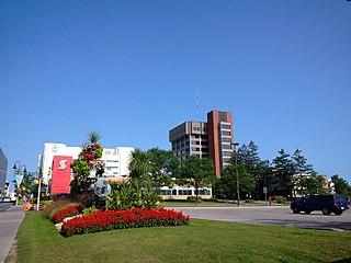 Oshawa City in Ontario, Canada