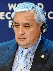 Guatemala-Politik-Fil:Otto Perez Molina at World Economic Forum 2013-cropped