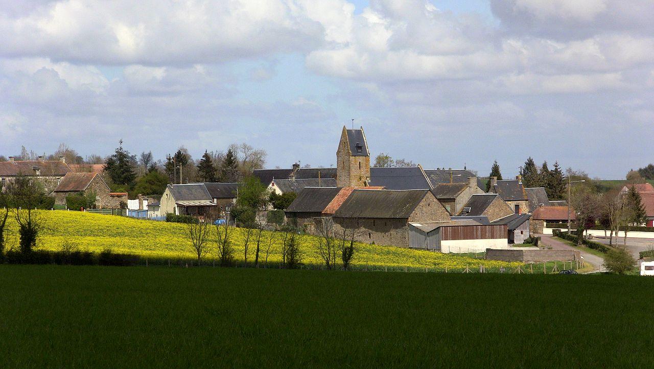 Une vue du village.