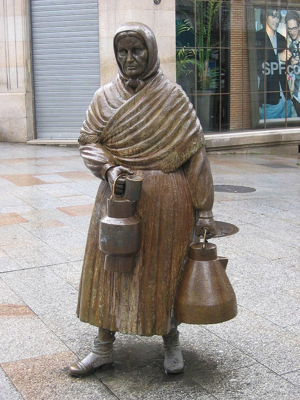 Ourense A leiteira Ramón Conde