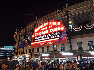 2016 Chicago Cubs season - Outside Wrigley Field, minutes before NLCS Game 6