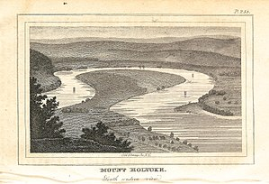 The Oxbow (Connecticut River) - Image: Oxbow View from Mount Holyoke 1826