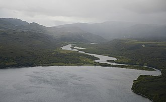 Kurile Lake - The Ozernaya river drains Kurile Lake