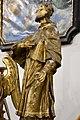 Pér, római katolikus templom, Nepomuki Szent János-szobor 2021 08.jpg