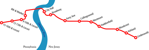 Nyc Subway Map Pda.Patco Speedline Wikipedia