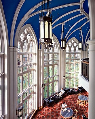 Rhodes College - A reading room in the Paul Barrett, Jr. Library