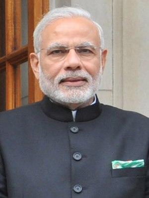 Indian general election, 2014 - Image: PM Modi Portrait(cropped)