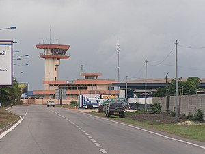 Port-Gentil - The airport in Port-Gentil