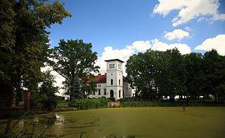 Osieka Place in Warmian-Masurian Voivodeship, Poland