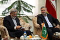 Pakistan Consul General met with the Mayor of Mashhad - Seyyed Sowlat Mortazavi and Qazi Habib ul-Rahman 1.jpg