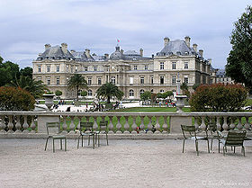 Resultado de imagem para jardim e palácio de luxemburgo br