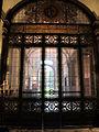 Palazzo della cassa di risparmio di via bufalini, vetrata ingresso 01.JPG