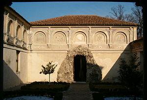 Palazzo Te in Mantova, Italy: the secret garde...