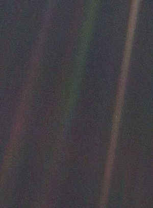 Pale Blue Dot unaltered