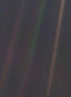 Pale Blue Dot unaltered