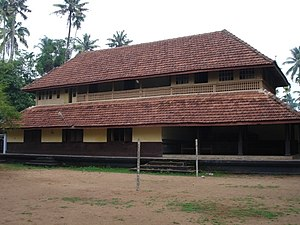 Malayali -  A typical Nalukettu structure.