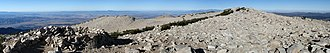 San Gorgonio Mountain - Image: Pan looking west and southwest from Mt San Gorgonio
