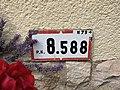 Panonceau PK 8,588 Route N79 Route Mâcon St Cyr Menthon 1.jpg