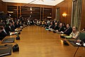 Papandreou Cabinet 1st meeting 2009October7.jpg