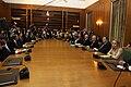 Papandreou Cabinet 1st meeting 2009October7.jpg