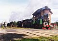 Parade of steam locomotives in Wolsztyn TKt48 143 nastawnia.jpg