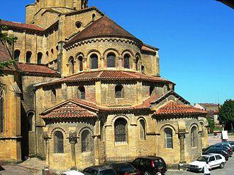 Paray-le-Monial - Apse of the basilica of Paray-le-Monial