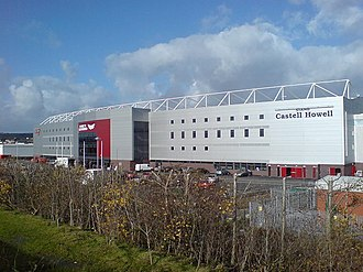 Scarlets - Scarlets current home ground, Parc y Scarlets