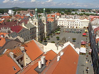 Pardubice Statutory City in Czech Republic