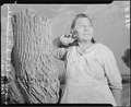 "Parker, Arizona. Mrs. Ruby Snyder, Chemehuevi Indian states, "" I hear that the Japanese are wonderf . . . - NARA - 536270.tif"