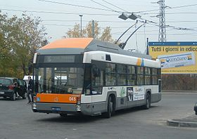 Image illustrative de l'article Trolleybus de Parme