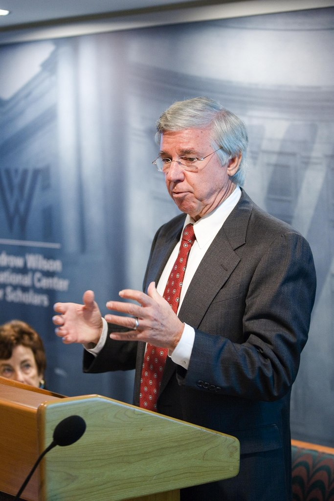 Parris Glendening speaking, September 2006