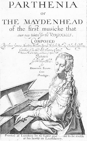William Byrd - Parthenia, published in 1612