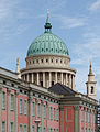 Partial south views of Stadtschloss and St. Nikolaikirche, Potsdam 20130630 1.jpg