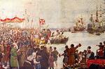 Partida de Vasco da Gama Para a Índia (Roque Gameiro, Quadros da História de Portugal, 1917).png