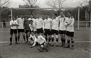 Real Unión - Real Unión squad of 1916.