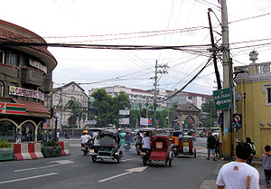 Pasig - Old center of Pasig at the Pasig City Museum and near the Immaculate Conception Cathedral