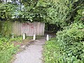 Pathway from Bee Lane to Sumpter Croft - geograph.org.uk - 1385975.jpg