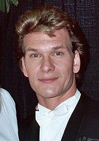 Patrick Swayze - 1990 Grammy Awards (cropped).jpg